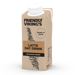 Friendly Viking's Latte kaurakahvijuoma 250 ml UHT