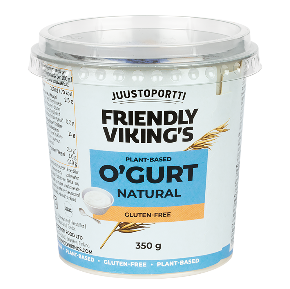 Juustoportti Friendly Viking's O'gurt Natural 350 g